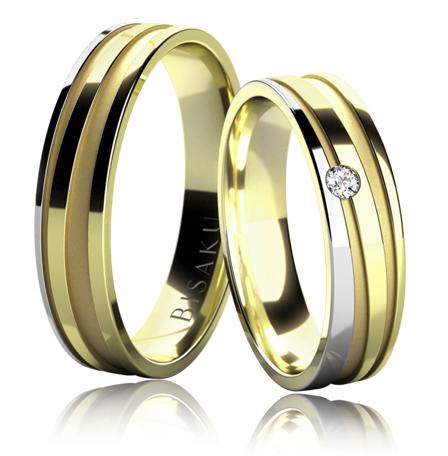 Zásnubní a snubní prsteny BISAKU