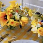 Jarní svatební kytice - narcis