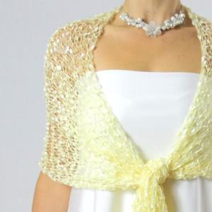 Pletený šál