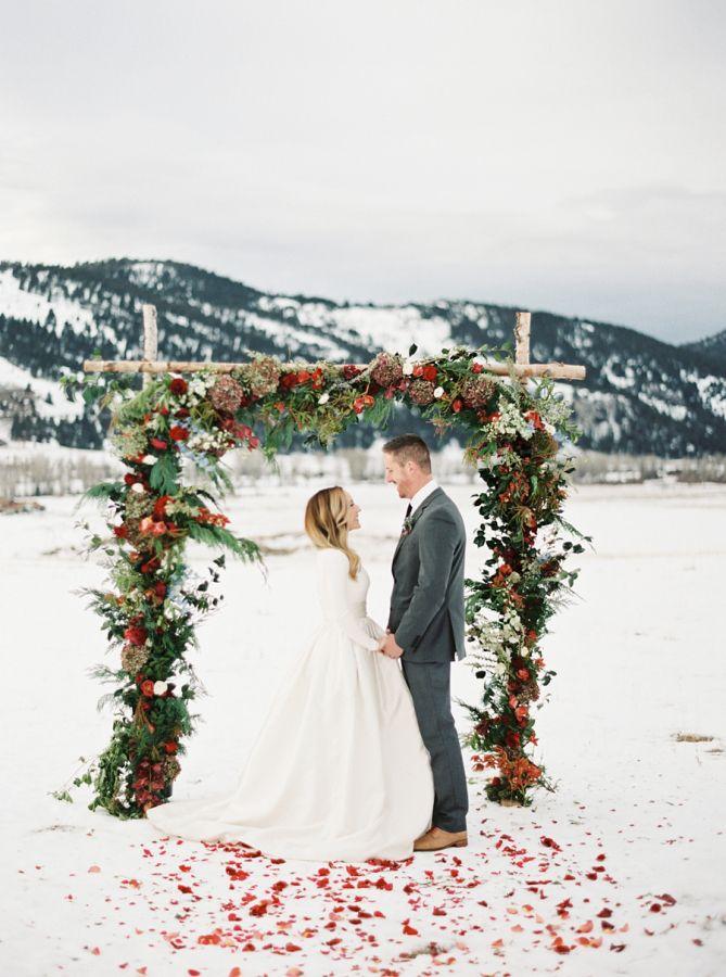Svatby podle období: zima