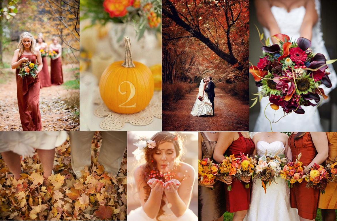 Svatby podle období: podzim