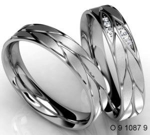 Snubní prsteny – ocel