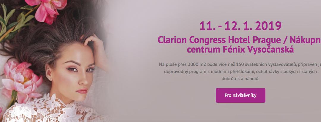 Svatební dny Clarion kongres hotel 11-12.1.19