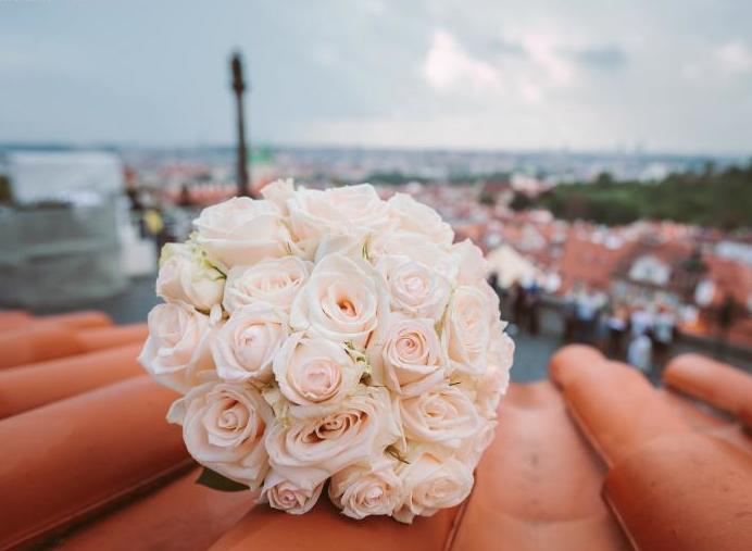 Svatební kytice La Florista