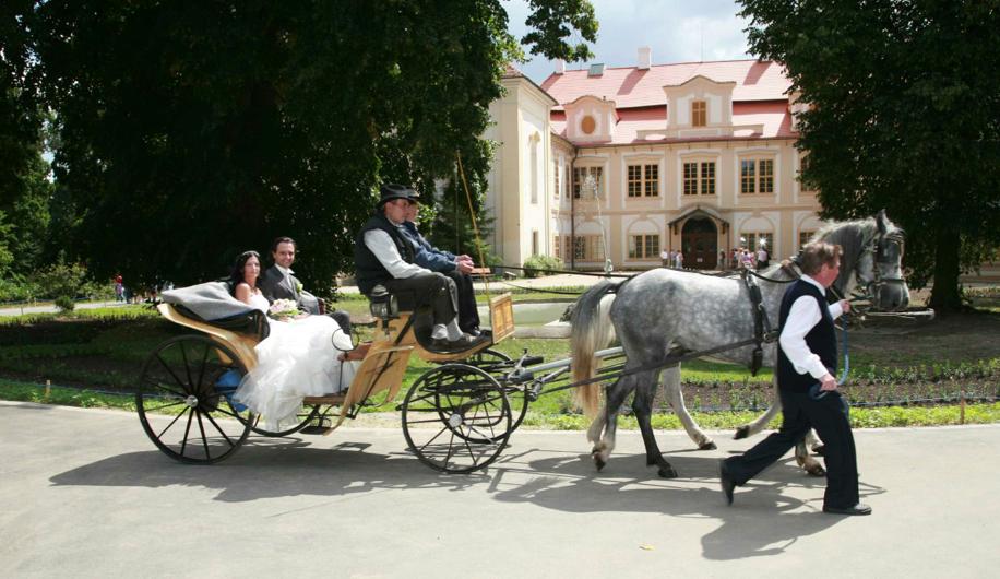Svatba na zámku Loučeň