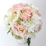 Jarní svatební kytice - hortenzie