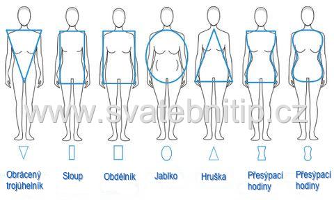1d9b9aac9c84 Svatební šaty podle typu postavy - Svatební tipy