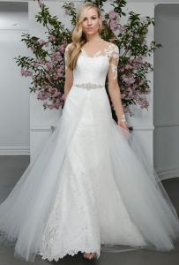 Jarní svatební šaty