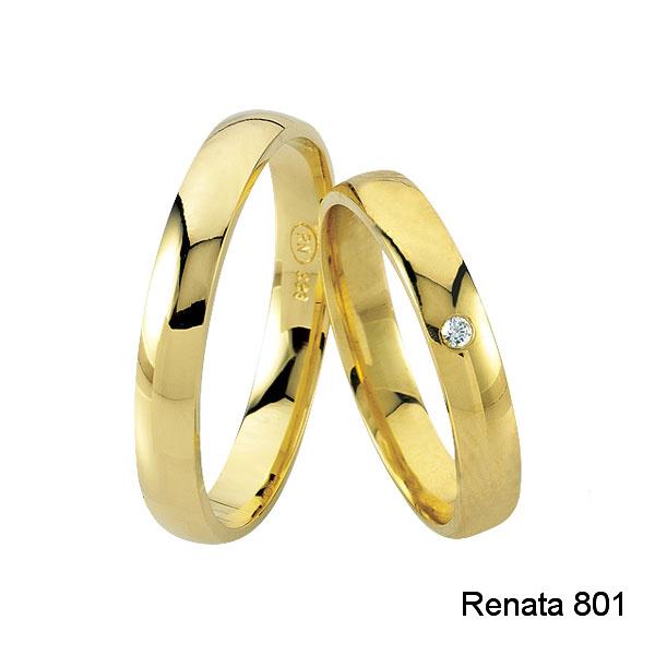 Zlaté snubní prsteny – klasika, která nezklame