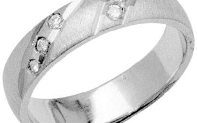 Snubní prsteny – platina