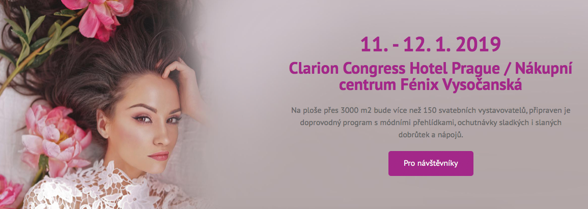 Svatební show Brno 18-19.1.19